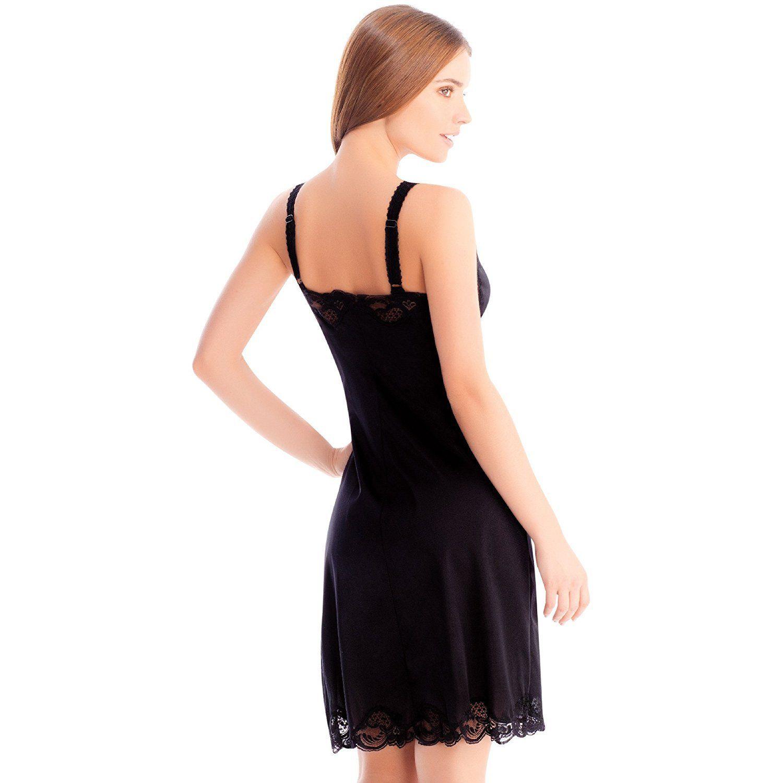 Illusion-Women-039-s-Premium-Nylon-Full-Slip-With-Lace-Trim-Adjustable-Straps-2012 thumbnail 6