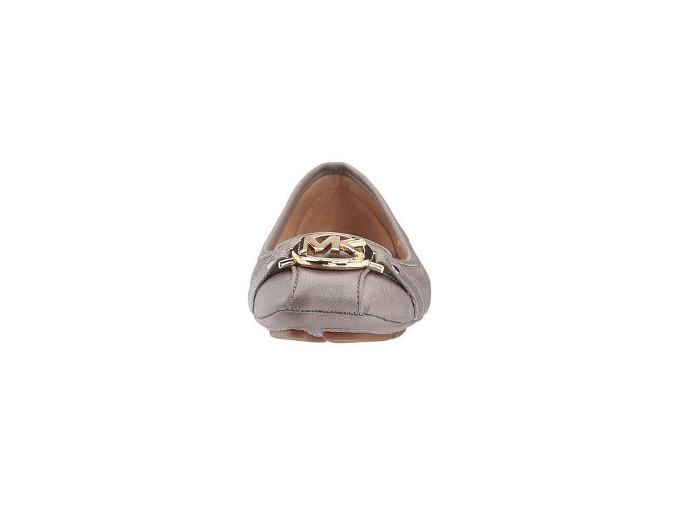 Michael-Kors-MK-Women-039-s-Premium-Designer-Fulton-Moccasin-Flats-Champagne thumbnail 4