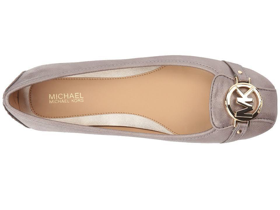 Michael-Kors-MK-Women-039-s-Premium-Designer-Fulton-Moccasin-Flats-Champagne thumbnail 6