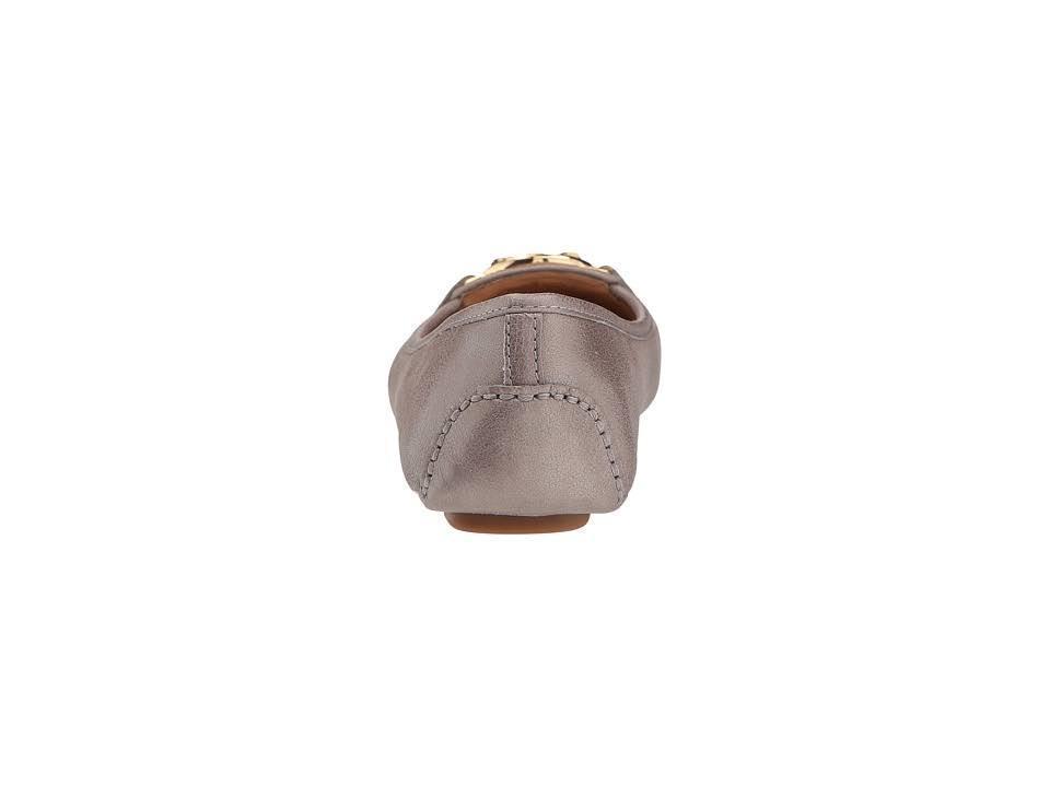 Michael-Kors-MK-Women-039-s-Premium-Designer-Fulton-Moccasin-Flats-Champagne thumbnail 5