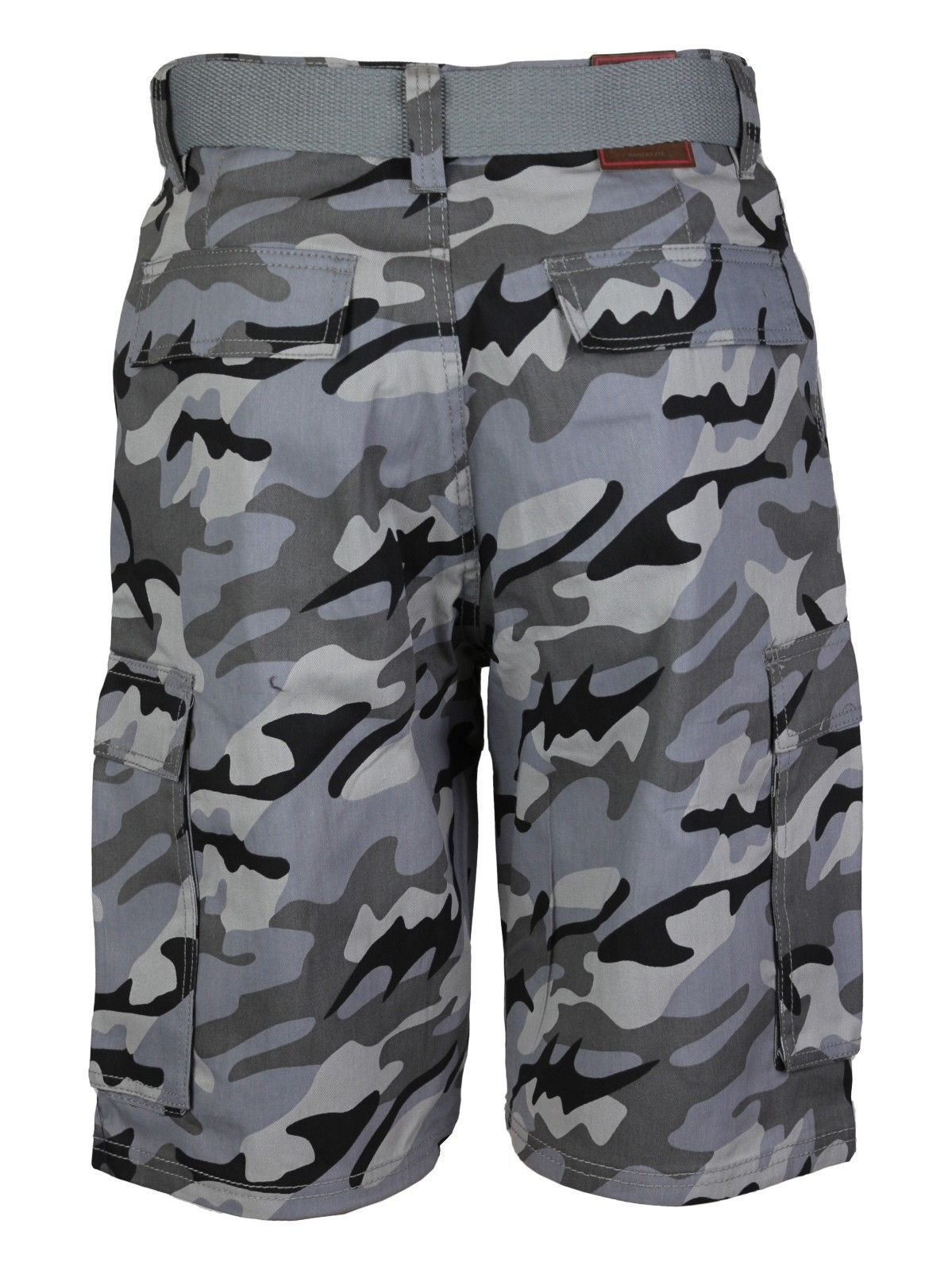 Men-039-s-Tactical-Combat-Military-Army-Cotton-Twill-Camo-Cargo-Shorts-With-Belt thumbnail 17