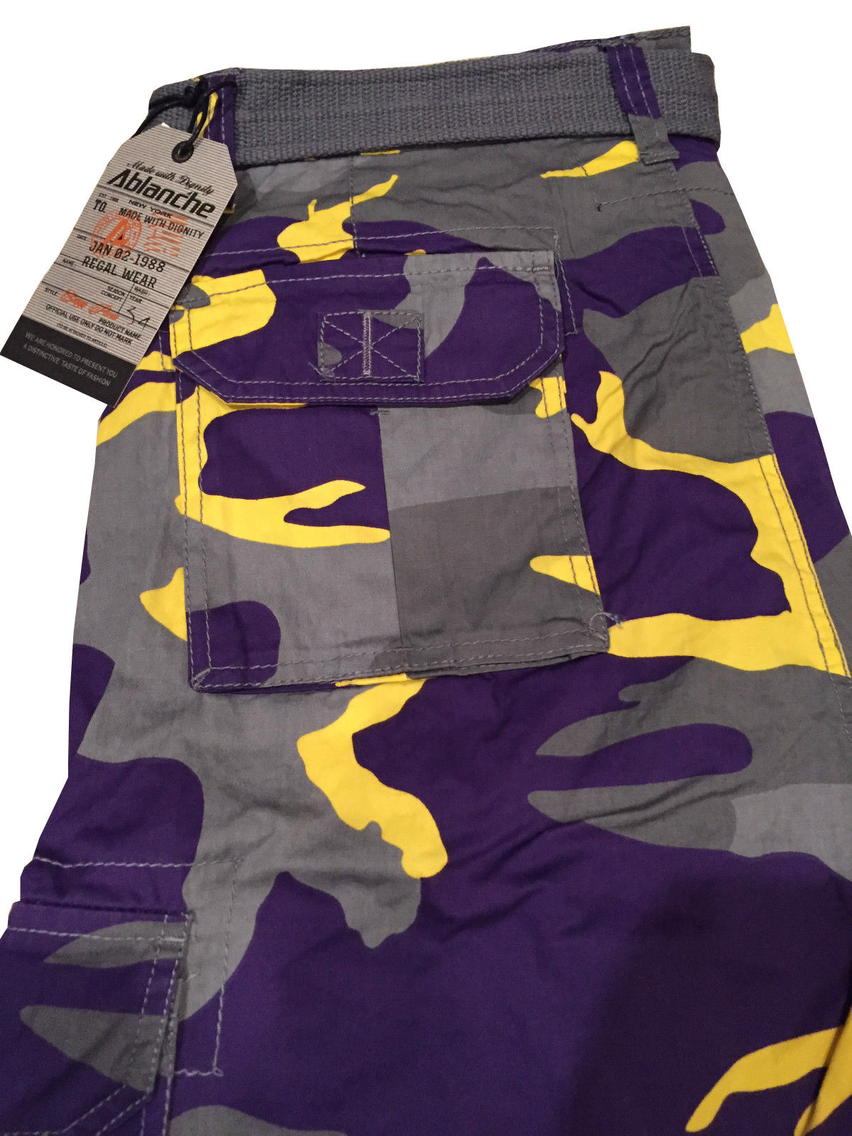 Men-039-s-Tactical-Combat-Military-Army-Cotton-Twill-Camo-Cargo-Shorts-With-Belt thumbnail 13