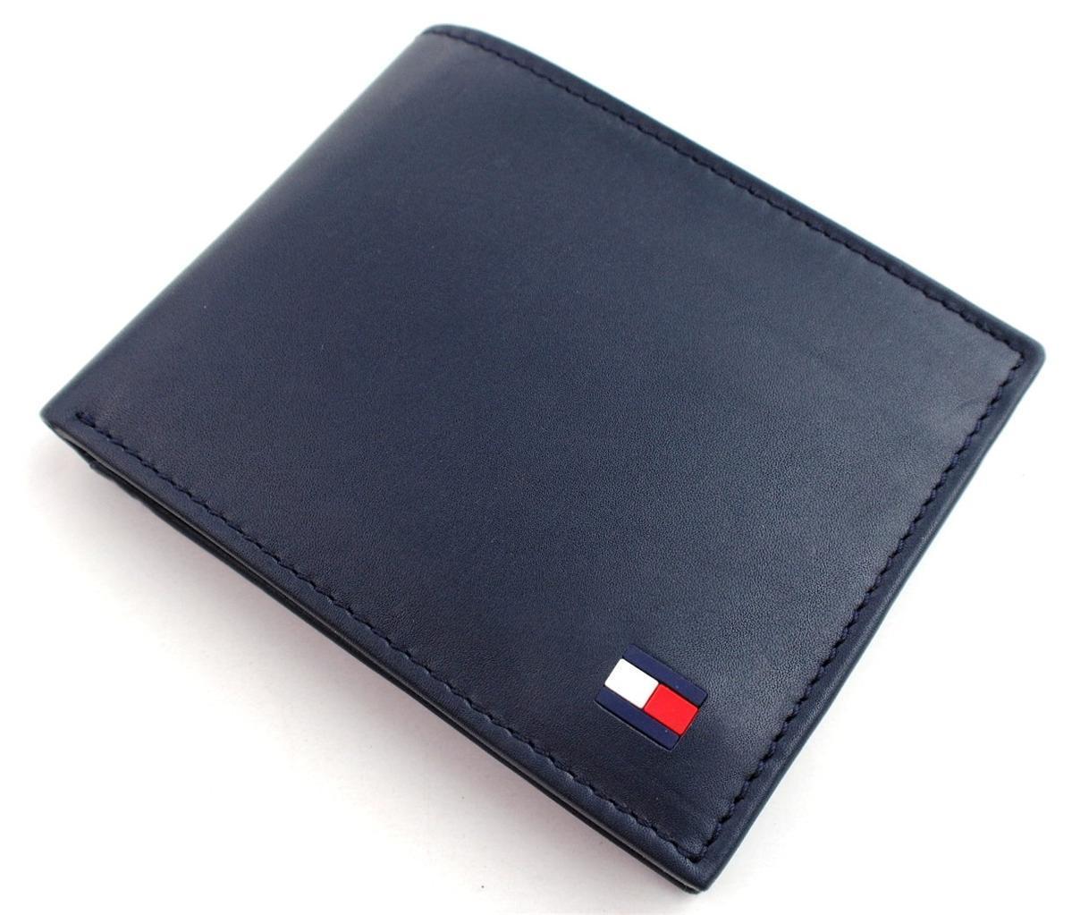 Tommy-Hilfiger-Men-039-s-Premium-Leather-Credit-Card-ID-Wallet-Passcase-31TL22X046 thumbnail 28
