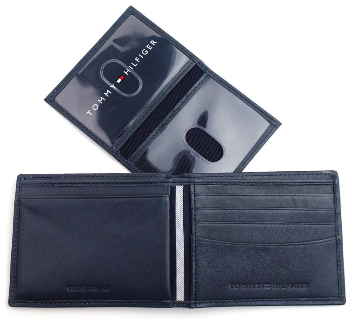 Tommy-Hilfiger-Men-039-s-Premium-Leather-Credit-Card-ID-Wallet-Passcase-31TL22X046 thumbnail 33