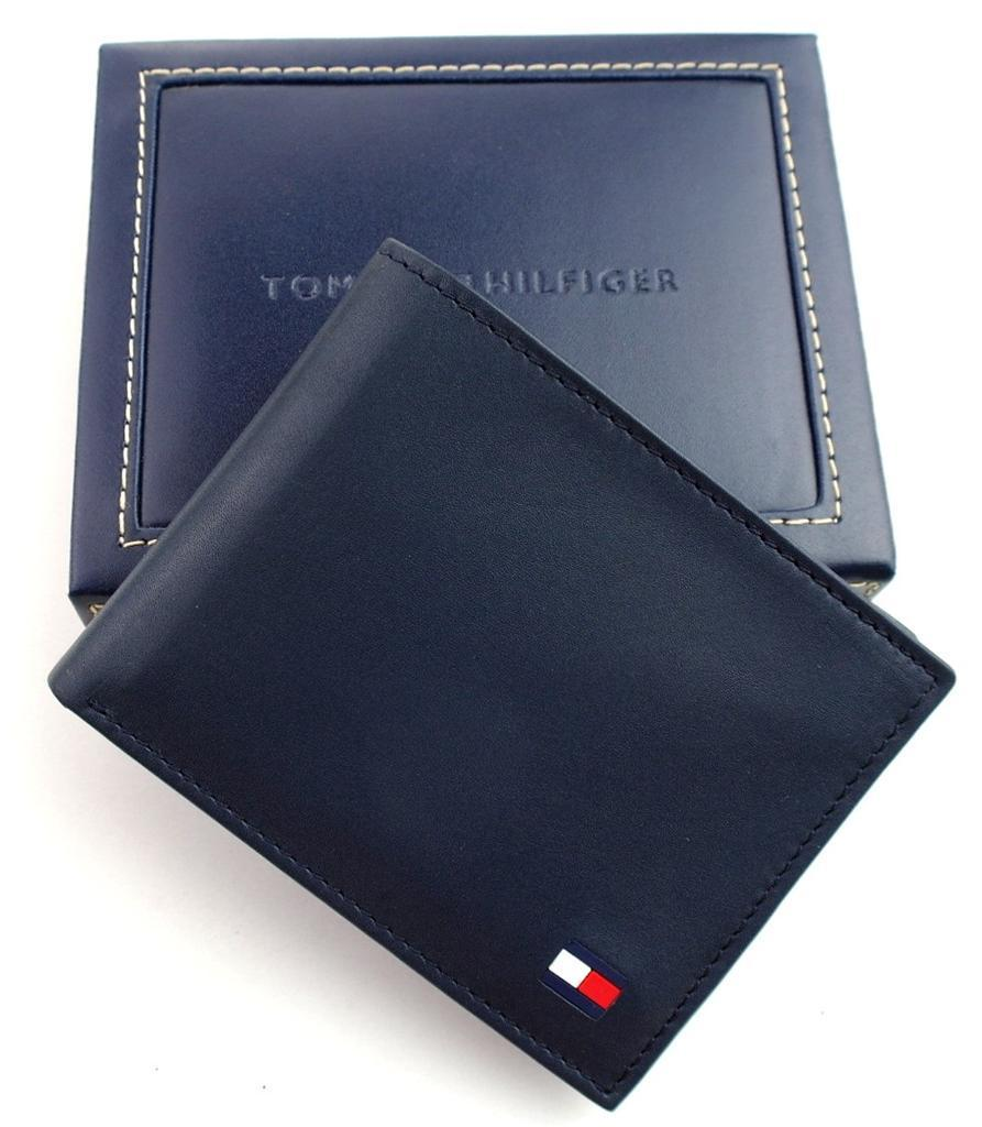 Tommy-Hilfiger-Men-039-s-Premium-Leather-Credit-Card-ID-Wallet-Passcase-31TL22X046 thumbnail 27