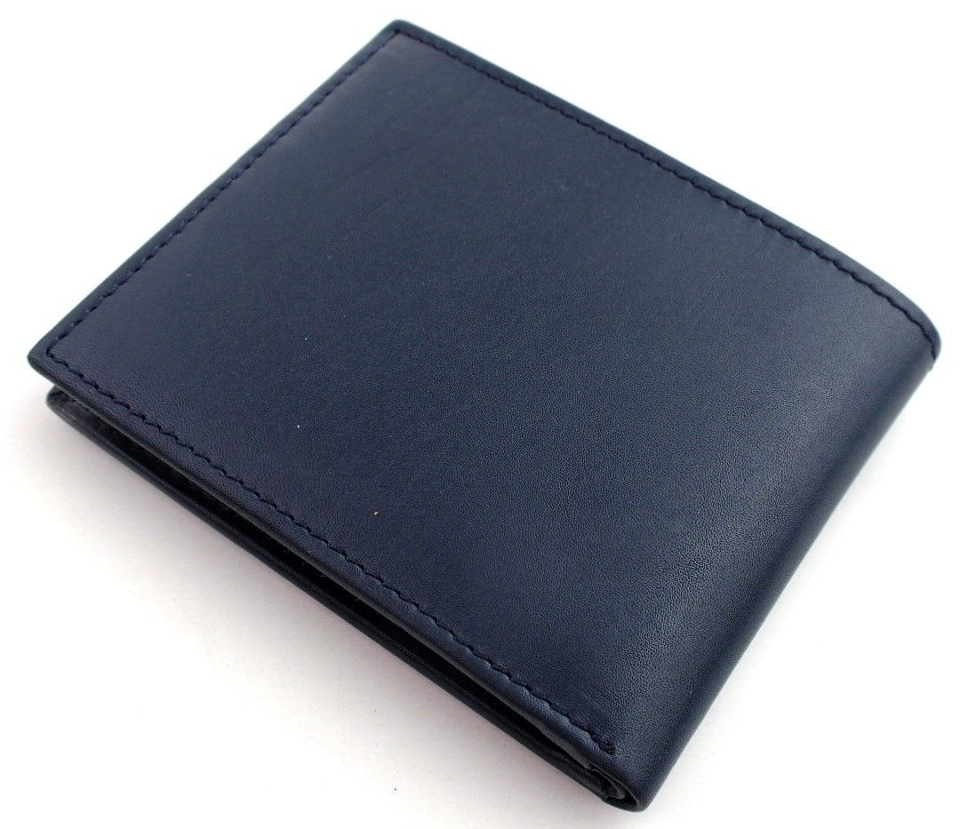 Tommy-Hilfiger-Men-039-s-Premium-Leather-Credit-Card-ID-Wallet-Passcase-31TL22X046 thumbnail 29