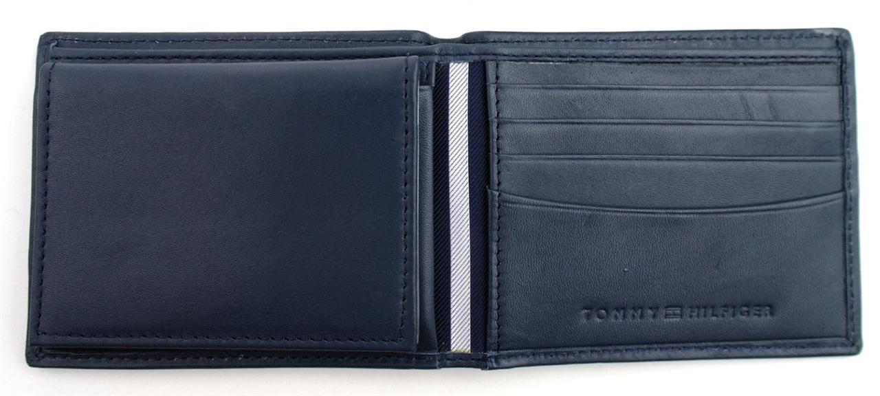 Tommy-Hilfiger-Men-039-s-Premium-Leather-Credit-Card-ID-Wallet-Passcase-31TL22X046 thumbnail 30