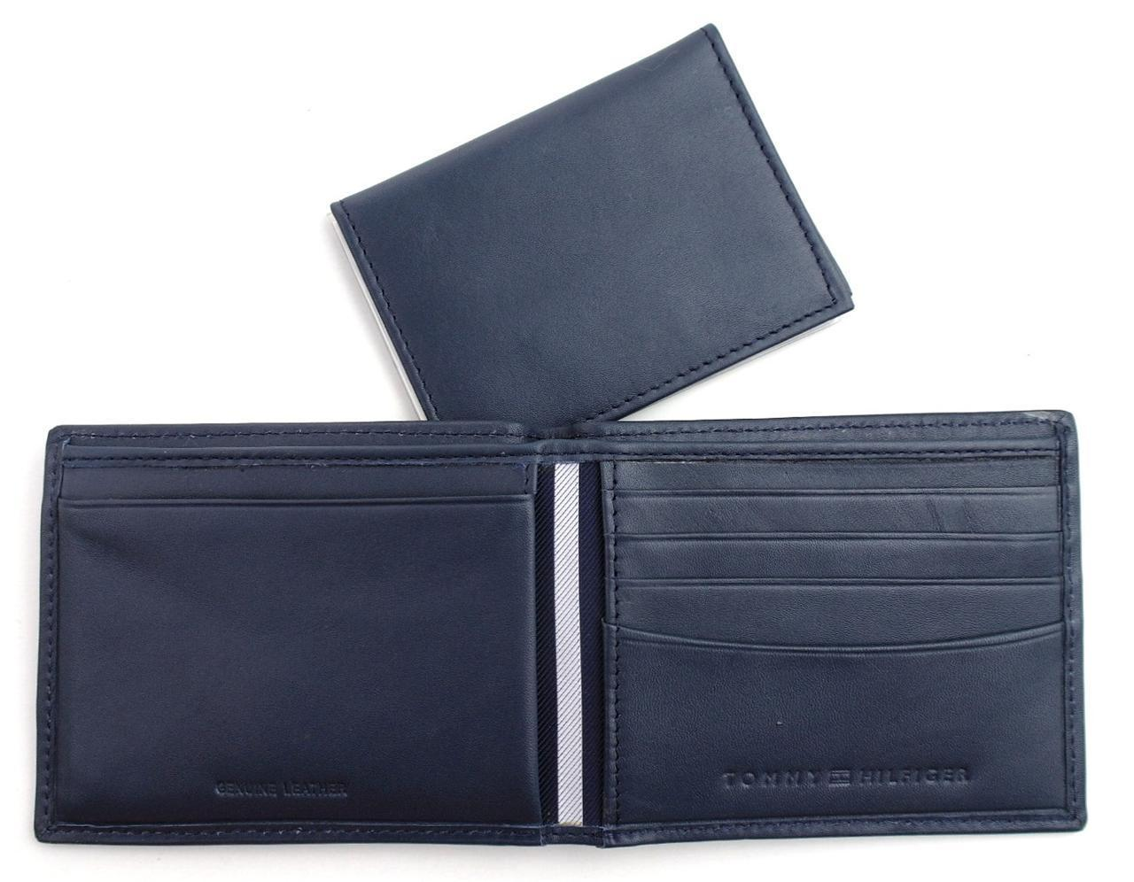 Tommy-Hilfiger-Men-039-s-Premium-Leather-Credit-Card-ID-Wallet-Passcase-31TL22X046