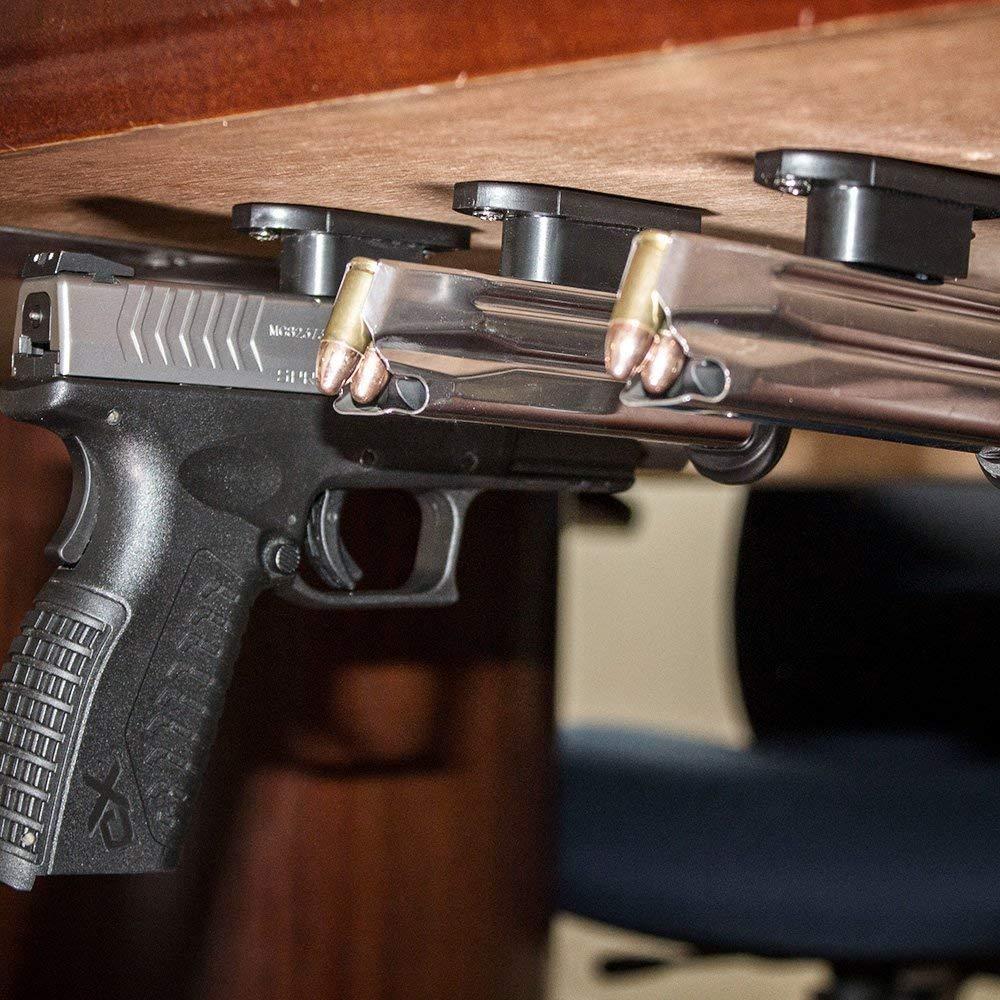 thumbnail 22 - GERO Tactical Quick Draw Gun Magnet Concealed Rifle & Shotgun Magnetic Holder