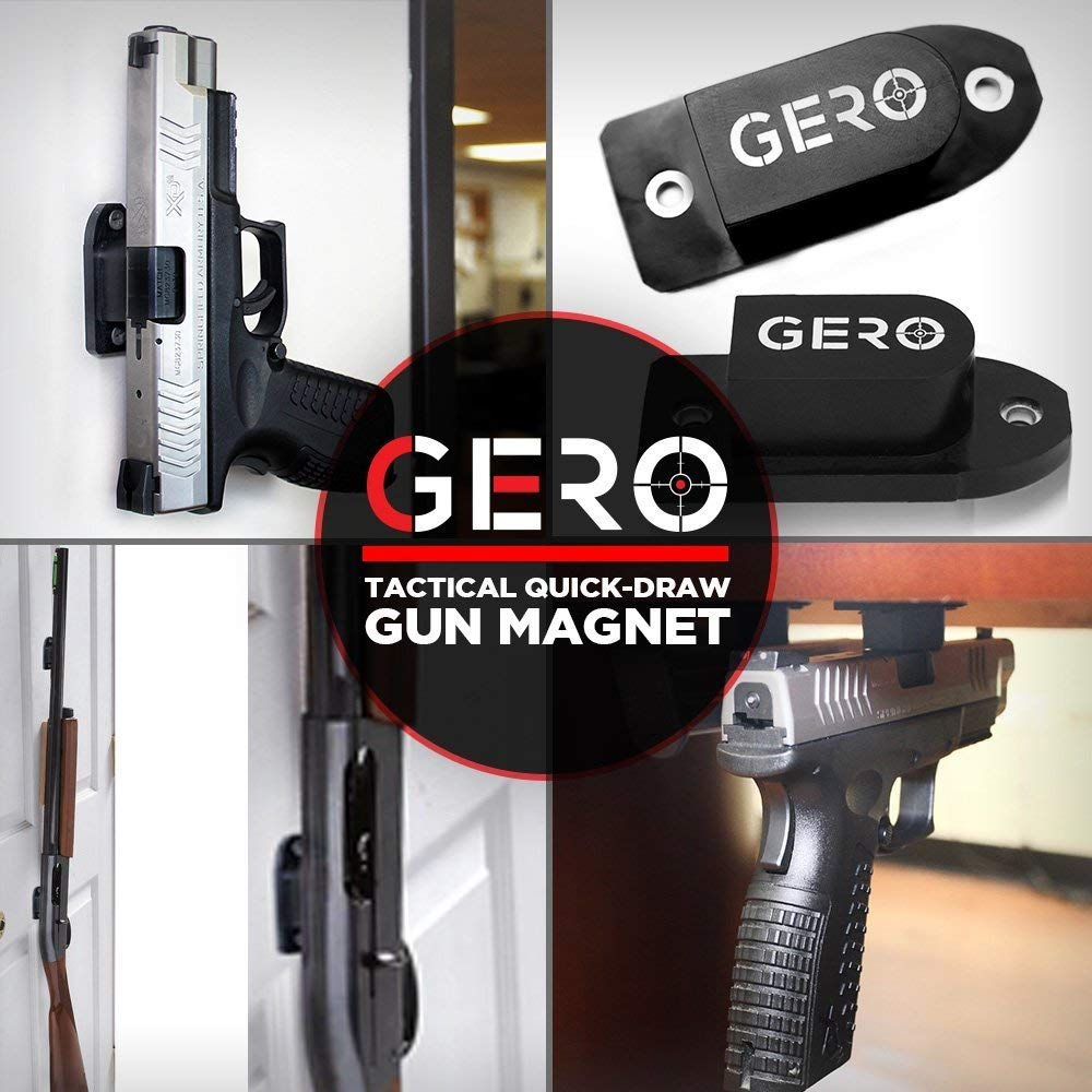 thumbnail 16 - GERO Tactical Quick Draw Gun Magnet Concealed Rifle & Shotgun Magnetic Holder