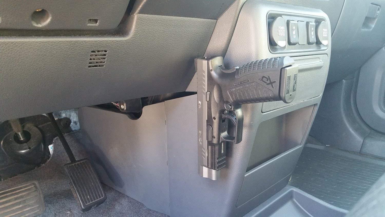 thumbnail 34 - GERO Tactical Quick Draw Gun Magnet Concealed Rifle & Shotgun Magnetic Holder