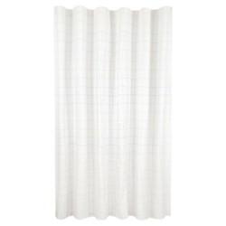 Core Grid Shower Curtain Blue White