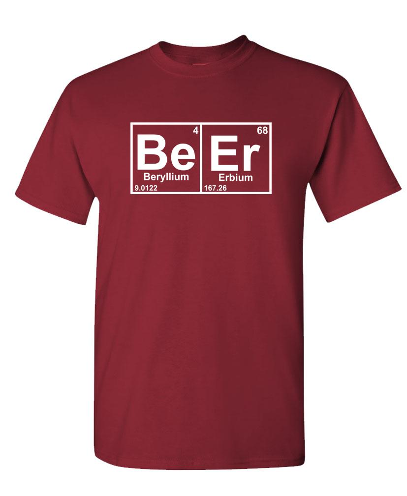 Phenomenal Details About Beer Periodic Table Chemistry Element Funny Unisex Cotton T Shirt Tee Shirt Home Interior And Landscaping Ferensignezvosmurscom