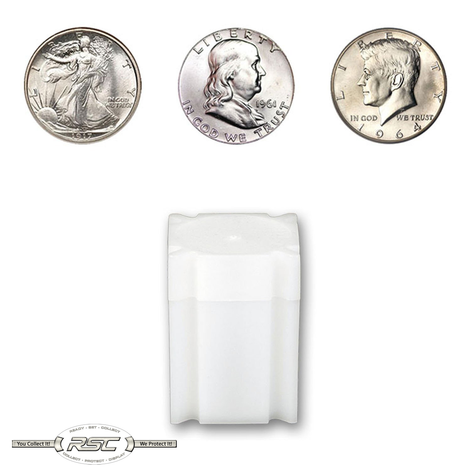 1 CoinSafe Tube for Nickel Holds 40 Coins!