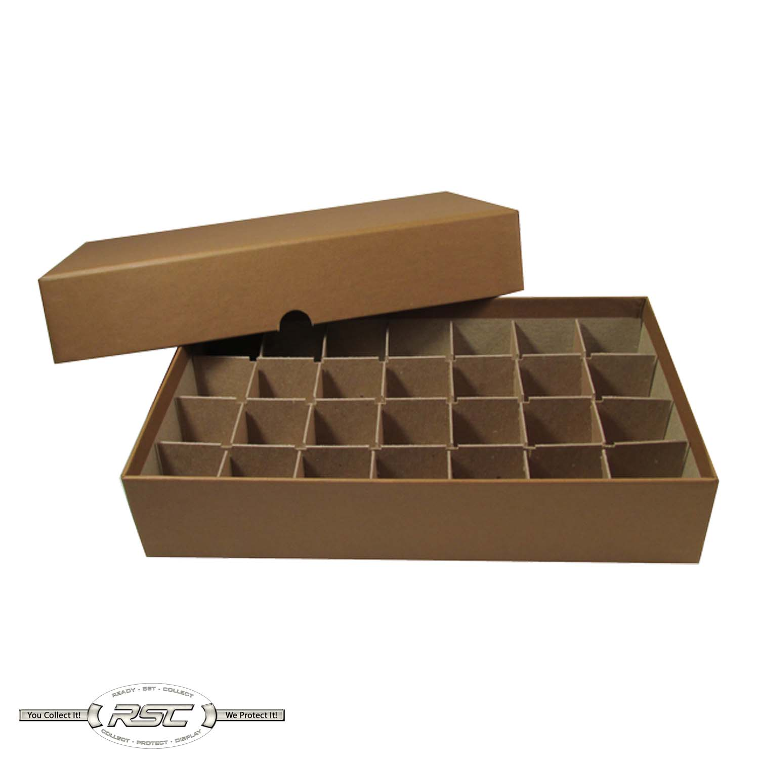 Holds 10 Half Dollar Rolls Coin Roll Storage Box for Halves by MMF Industries