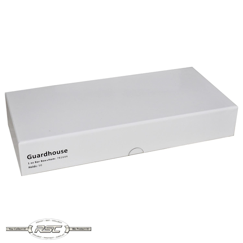 Guardhouse Double Row 1 oz Bar Capsule Box Holds 50