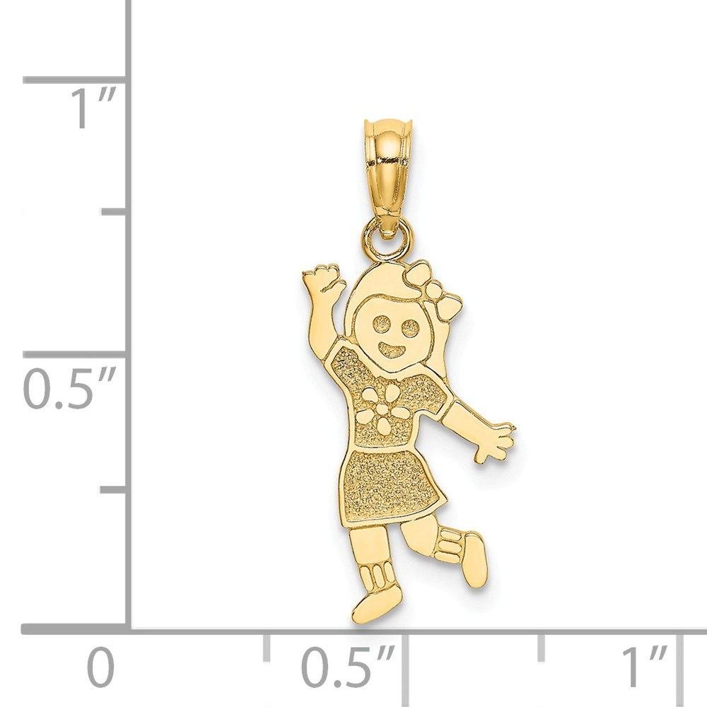 14K-Girl-Charm miniature 4