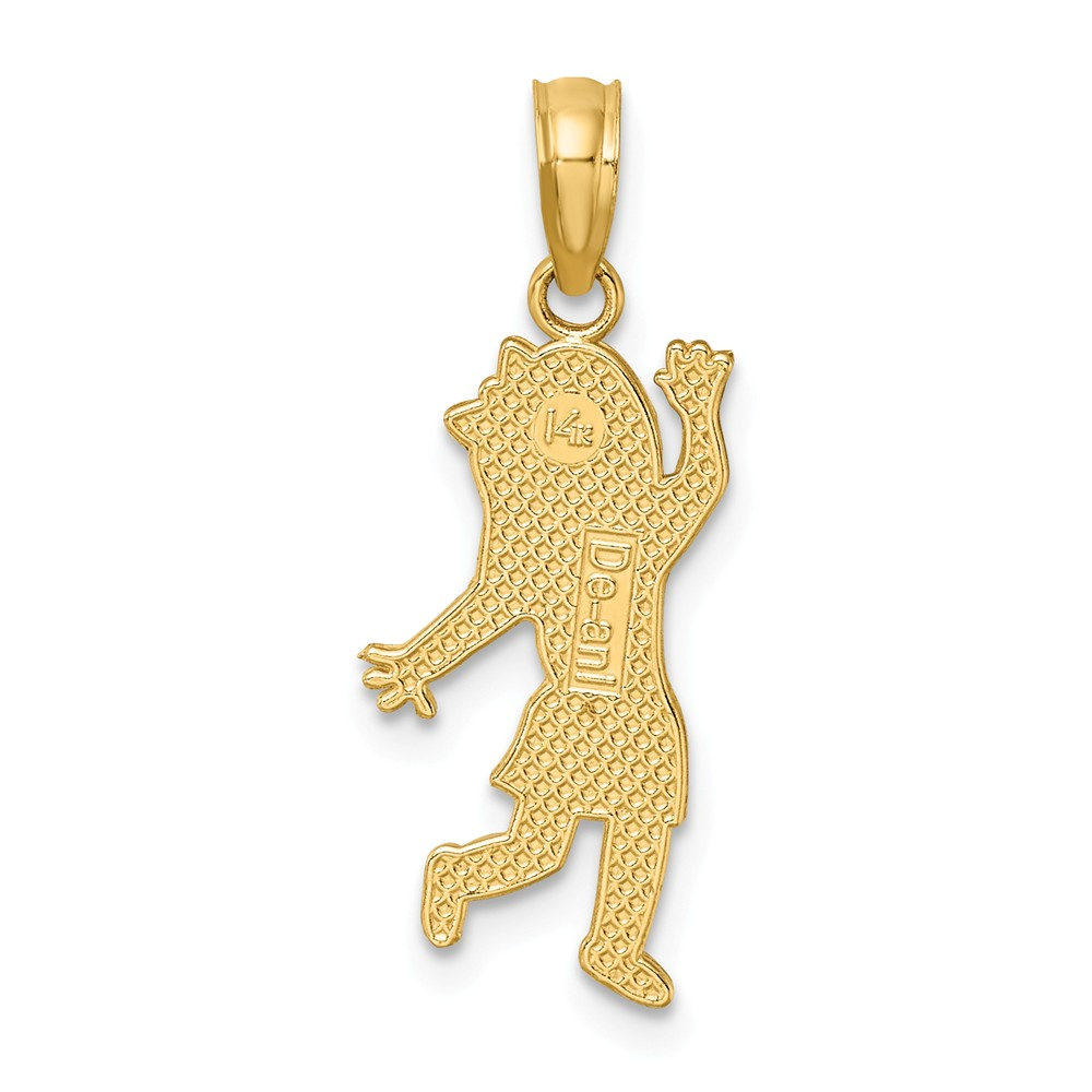 14K-Girl-Charm miniature 5