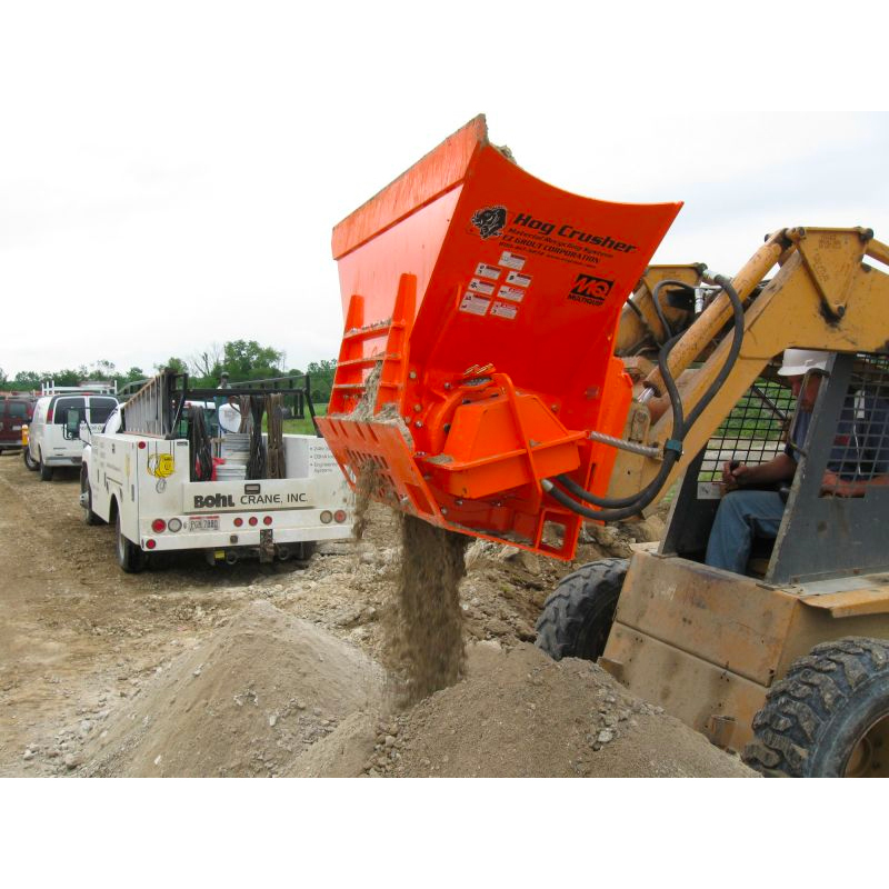 Skid Steer Concrete Crusher Attachment Hog Crusher For