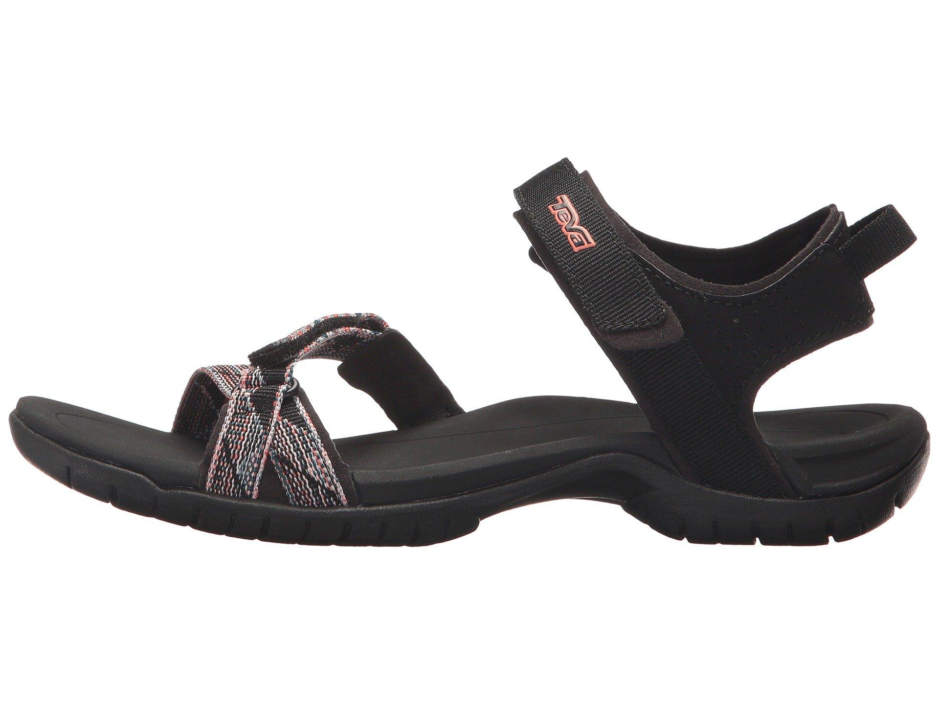 5643cd9c6604 Teva 1006263 Sbmlt Verra Suri Black Multi Women s Sandals 11 US. About this  product. Picture 1 of 7  Picture 2 of 7 ...