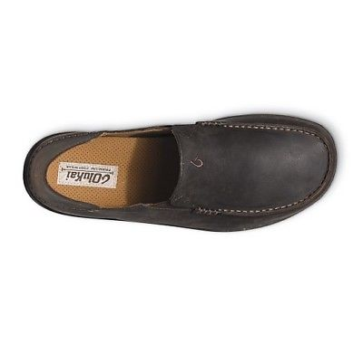 Olukai-10128-6348-Moloa-Dark-Wood-Dark-Java-Men-039-s-Slip-On-Shoes thumbnail 8