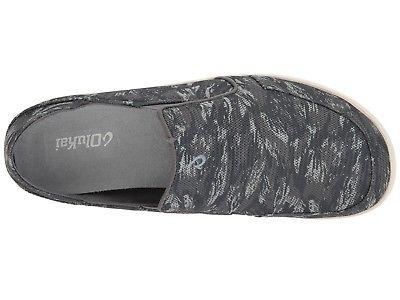 Olukai 10188 26DV Nohea Mesh Charcoal Uomo Slip On On On scarpe 5cb60f