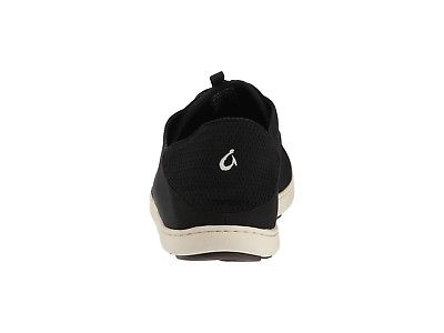Olukai-10283-OXOX-Nohea-Moku-Onyx-Black-Men-039-s-Slip-On-Shoes thumbnail 9