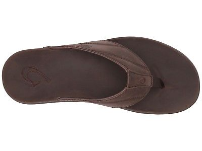 Olukai-10357-6363-Pikoi-Dark-Wood-Men-039-s-Sandals thumbnail 9