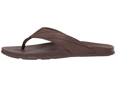 Olukai-10357-6363-Pikoi-Dark-Wood-Men-039-s-Sandals thumbnail 7
