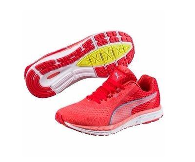 Puma 189954 189954 Puma 01 Speed 500 Ignite 2 Poppy Rojo Para Mujer Zapatos Para Correr 404503