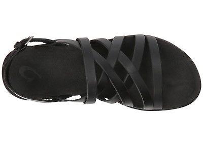 Olukai-20344-4040-AWE-AWE-Black-Black-Women-039-s-Sandals thumbnail 20