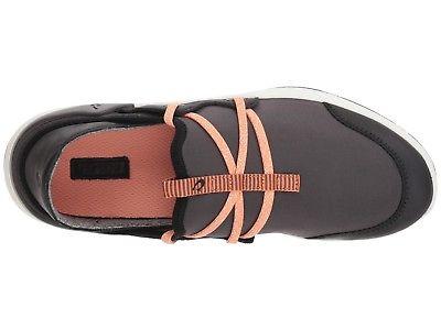 Olukai 20366 PV40 Miki Li Pavement Black Women/'s Slip On Shoes