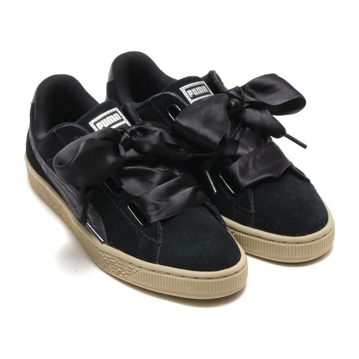 Puma Black Sneaker Suede eBay Heart Athletic Women's 03 364083 Safari xrq1Xr8