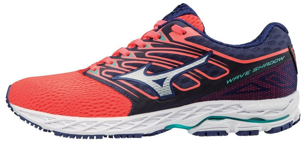 acaf23d28f2deb Image is loading Mizuno-410941-1Z00-Wave-Shadow-Fiery-Coral-Women-