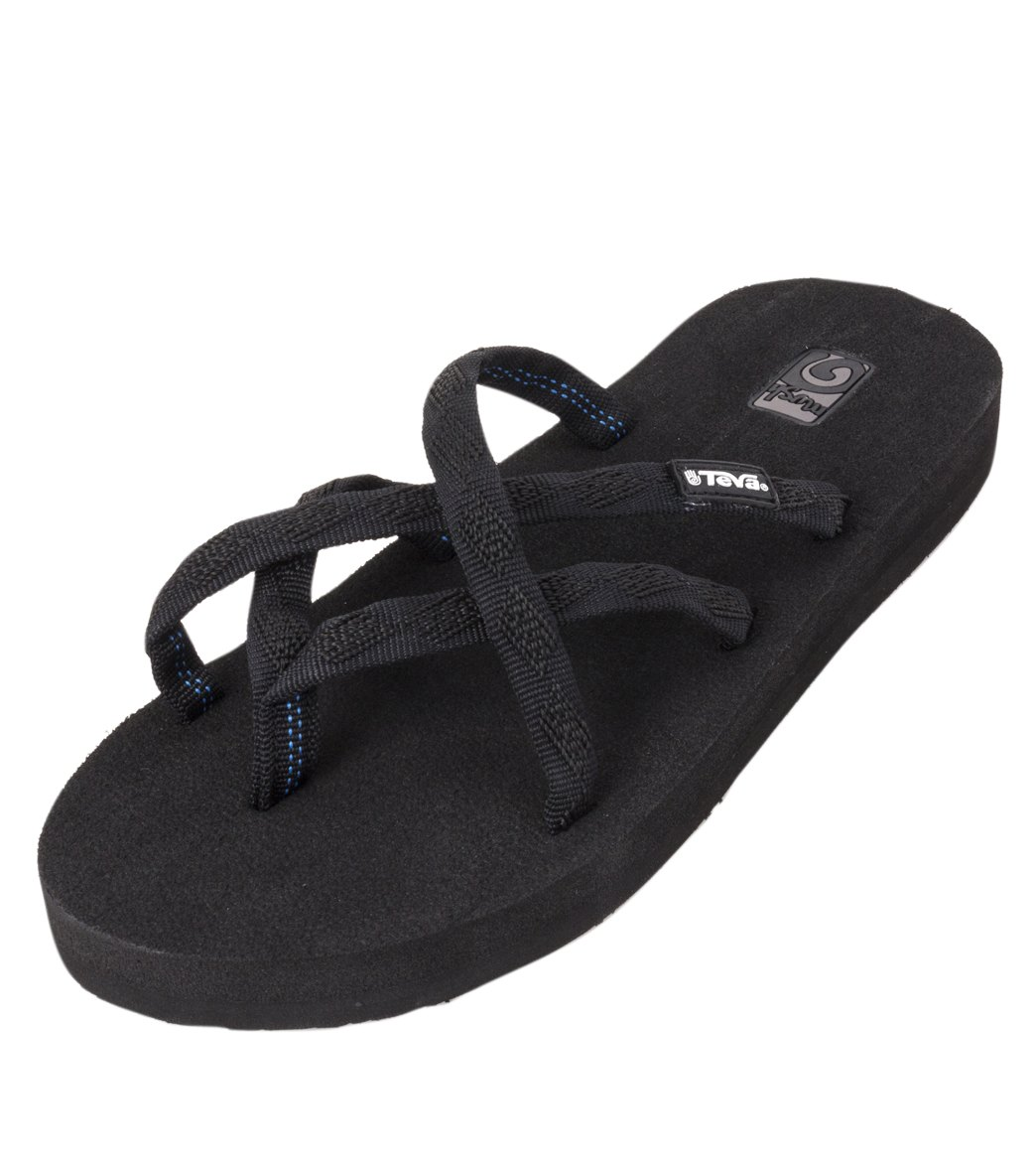 994be2f3e3bfd Teva 6840 MBOB Olowahu Mix B Black On Black Women s Sandals