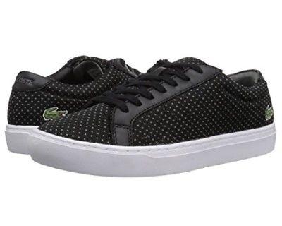 Lacoste-7-35CAM0055237-L-12-12-Black-Grey-Men-039-s-Casual-Sneaker-Shoes thumbnail 8