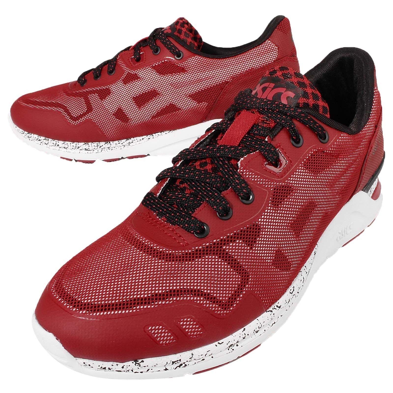 4b806354ad23 Asics H641N 2501 GEL-Lyte Evo NT Retro Red White Men s Running Shoe ...