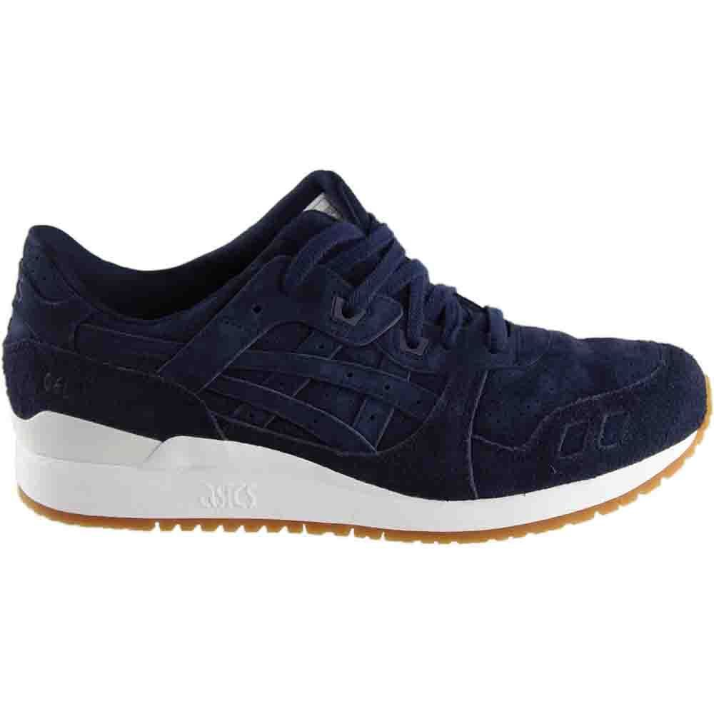 size 40 7334c 807a9 Details about Onitsuka Tiger Asics HL7X3 5858 Gel-Lyte III Peacoat Men's  Running Shoes
