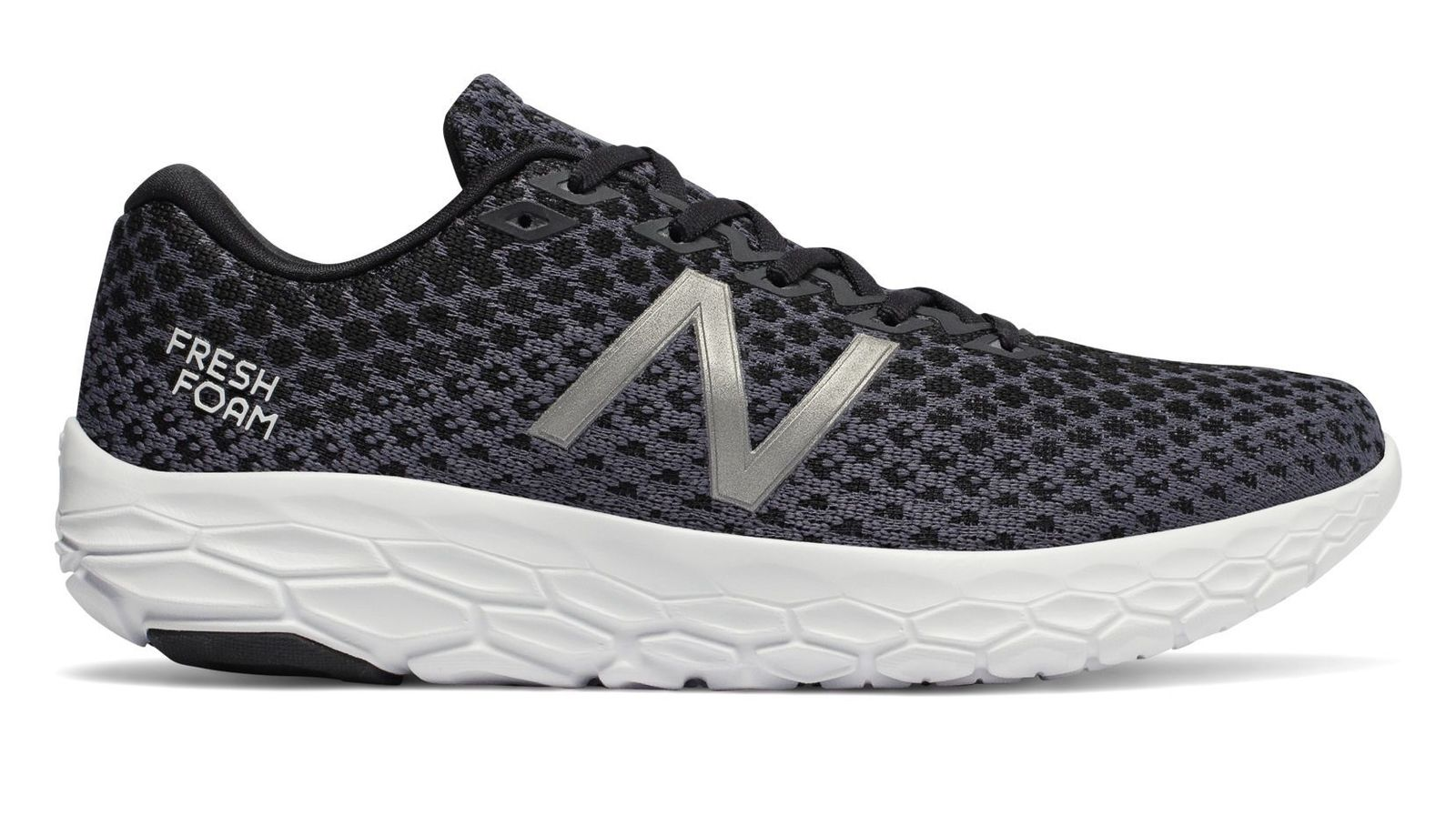 New Balance MBECNBK Beacon V1 Fresh Foam Black White Men's Running shoes