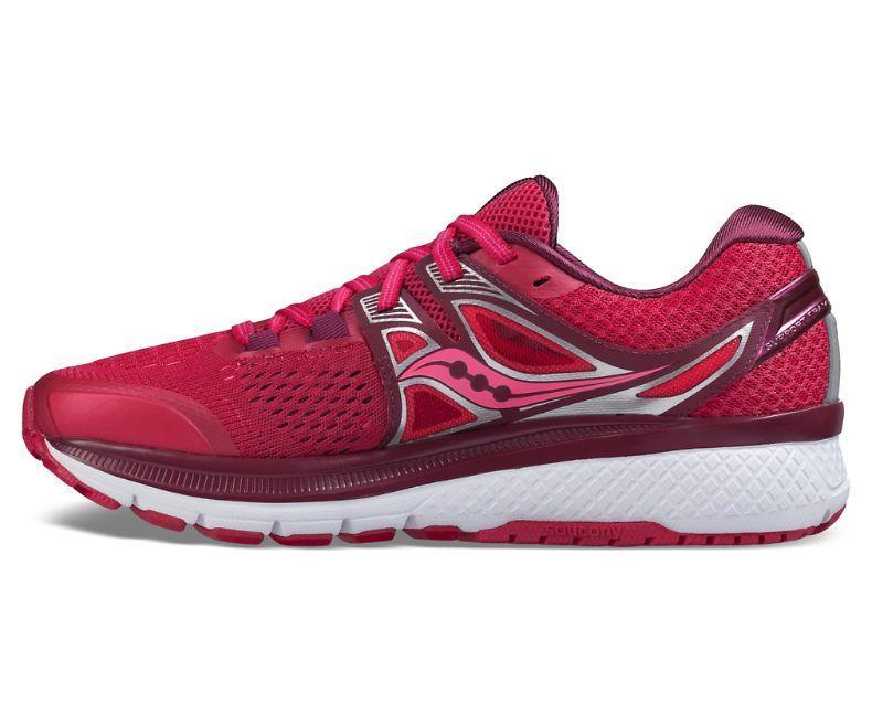 Saucony S10346 2 TRIUMPH TRIUMPH TRIUMPH ISO 3 rosado Baya de plata para mujer zapatos para correr 64a3b0