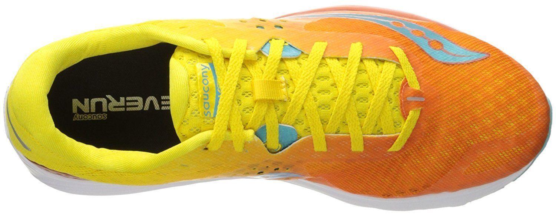698f0662c8c3 Saucony S10356 2 Kinvara 8 Orange Yellow Women Running Shoes