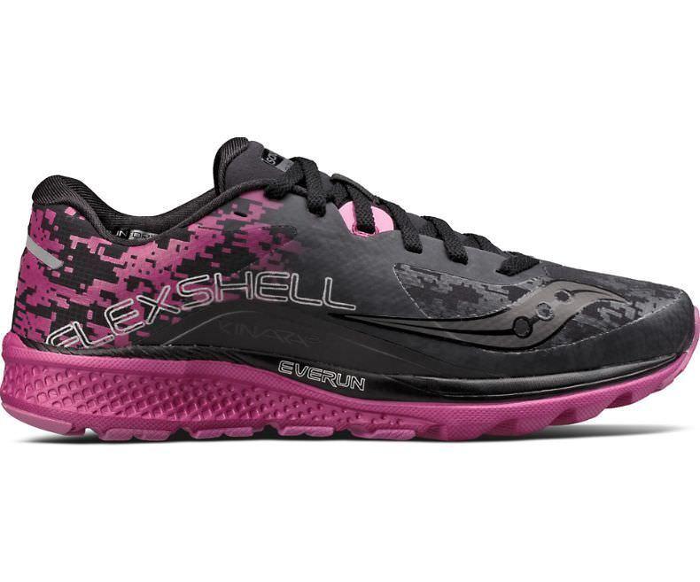Saucony S10357 S10357 S10357 1 Kinvara 8 Runshield Black Pink Women Running shoes 23454d