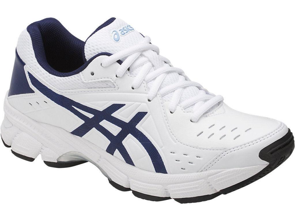 Asics S759Y 0149 Gel-195 TR White Indigo bluee Airy bluee Womens shoes US 5 M