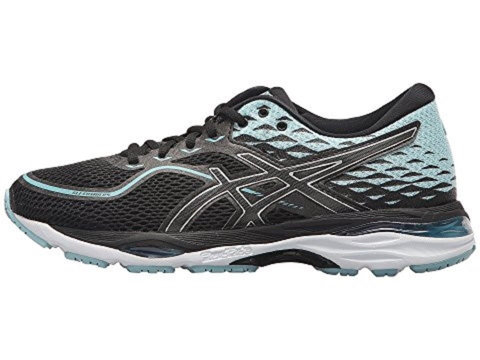 Asics Asics Asics T7B8N 9014 GEL Cumulus 19 Black Porcelain bluee White Women's Running shoes 92019f