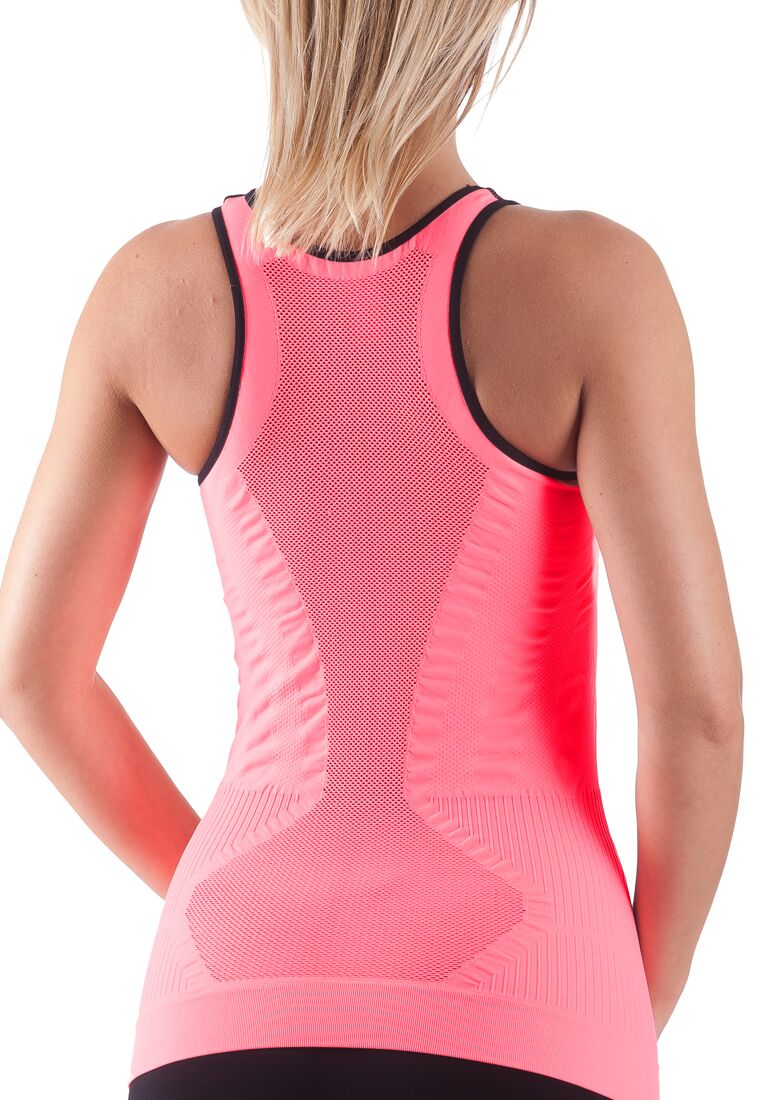 Bellissima-Women-039-s-Activewear-Tank-Top-Yoga-Running-Workout-Seamless-Sport-Tops thumbnail 9