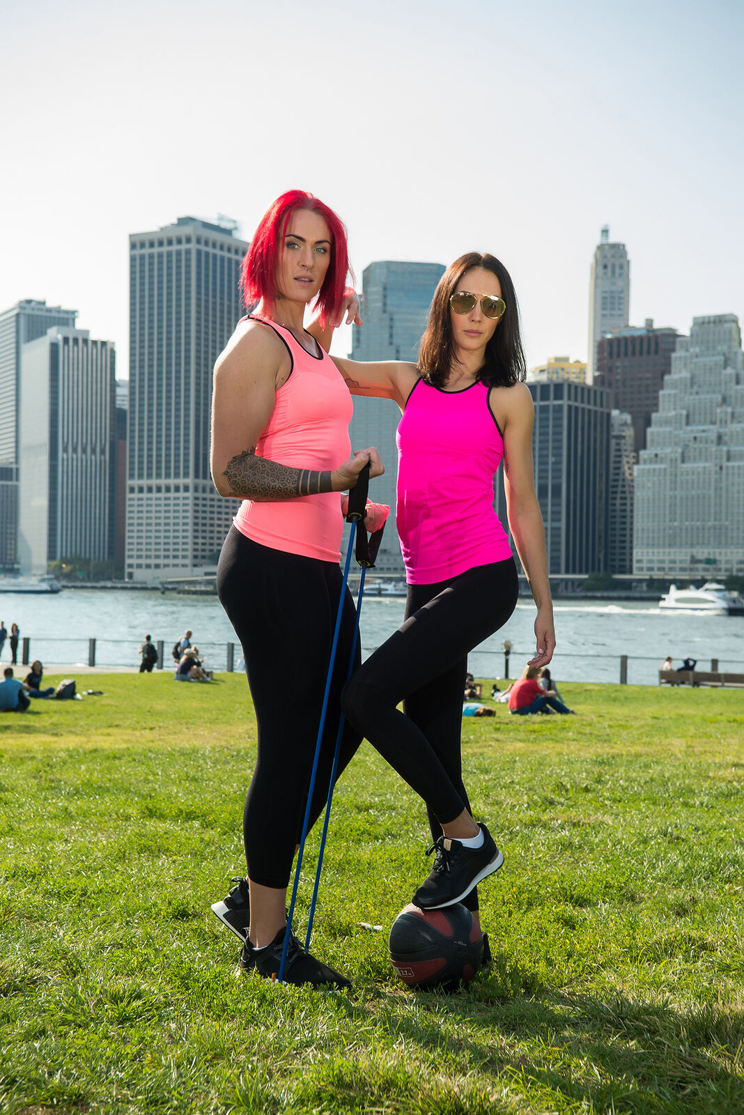 Bellissima-Women-039-s-Activewear-Tank-Top-Yoga-Running-Workout-Seamless-Sport-Tops thumbnail 22