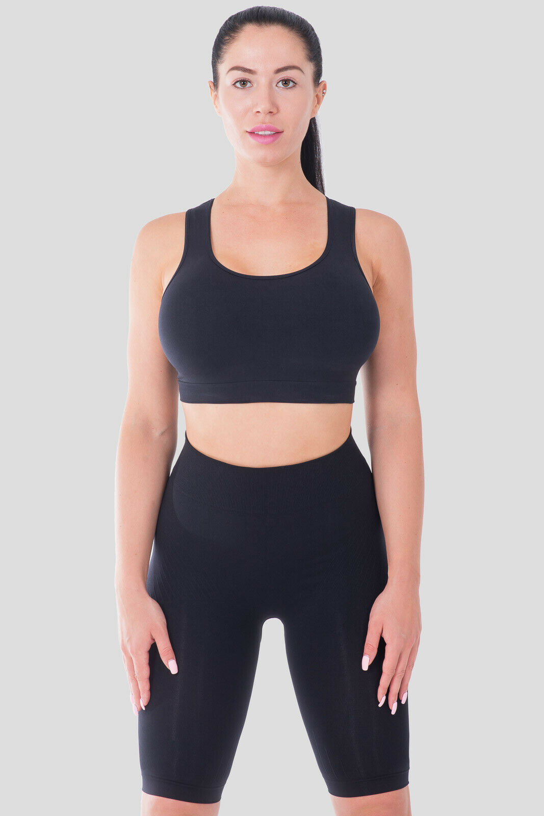 Bellissima-Women-039-s-Sport-Bra-Running-Yoga-Workout-Fitness-Racerback-Seamless thumbnail 15