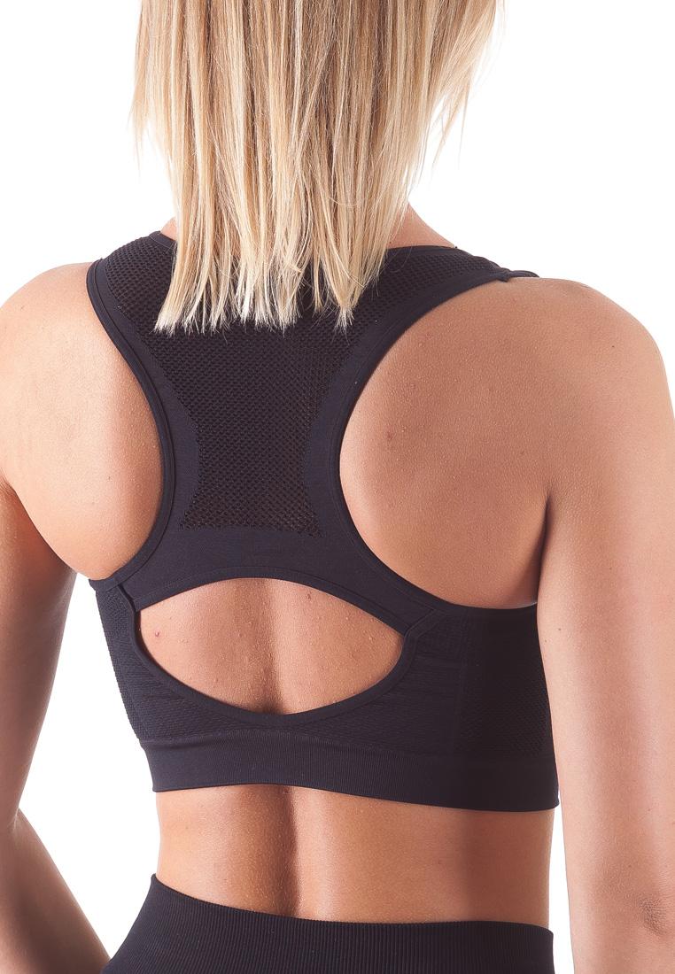 Bellissima-Women-039-s-Sport-Bra-Running-Yoga-Workout-Fitness-Racerback-Seamless thumbnail 14