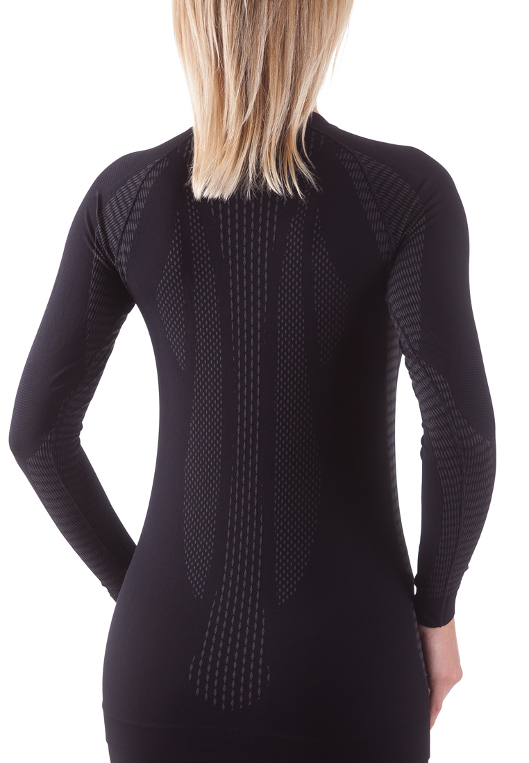 Bellissima-Women-039-s-Athletic-Compression-Long-Sleeve-Shirt-Moisture-Wicking-Top thumbnail 23