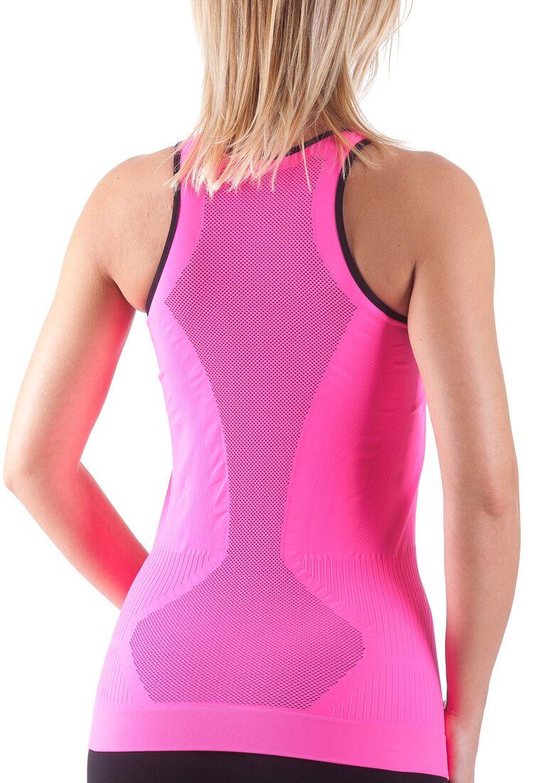 Bellissima-Women-039-s-Activewear-Tank-Top-Yoga-Running-Workout-Seamless-Sport-Tops thumbnail 25
